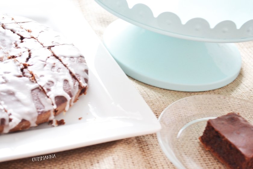Dairy free Cocoa Fondant brownie recipe