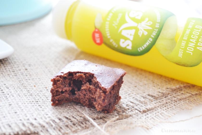 Dairy free Cocoa Fondant brownie recipe