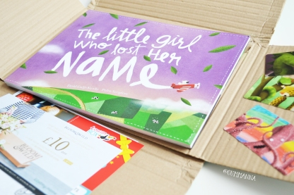 The little girl who lost her name book review