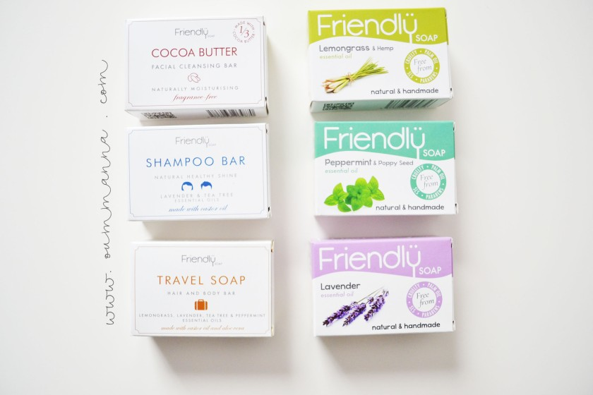 Friendly Soap Giveaway
