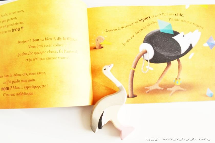 livre Oh j'ai perdu mon nom