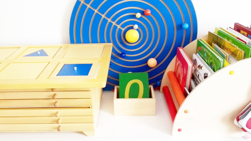 Montessori Materials - The prepared environment